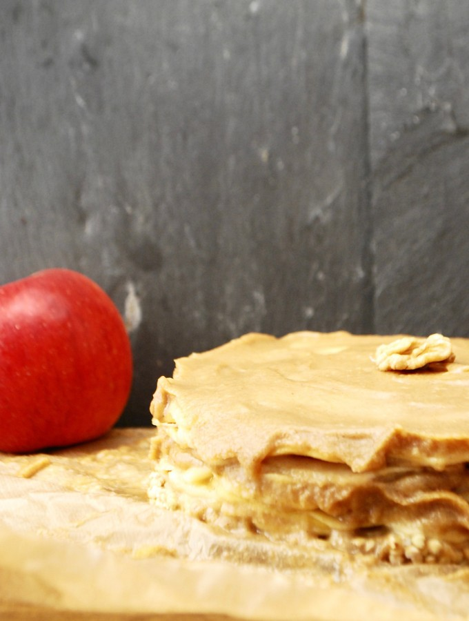 La galette pommes caramel